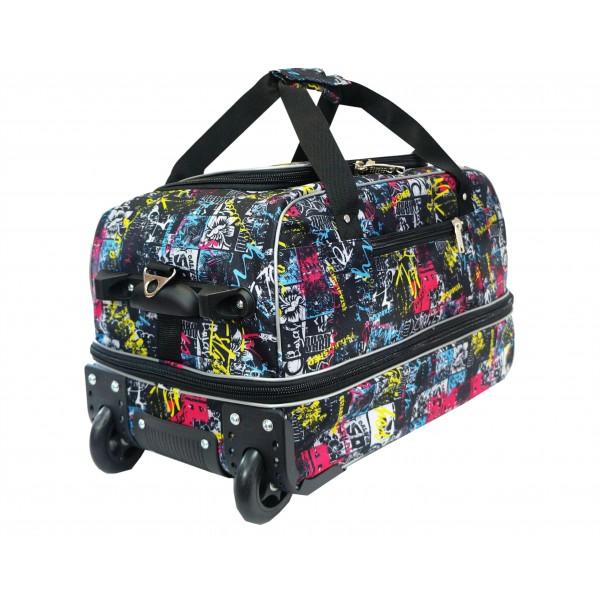 Дорожная сумка на колесах К-04р